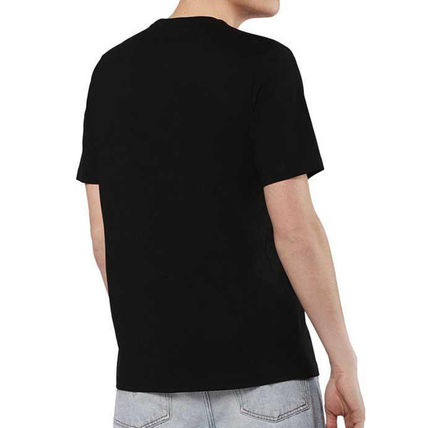 DIESEL Crew Neck Crew Neck Plain Cotton Short Sleeves Logo Crew Neck T-Shirts 8