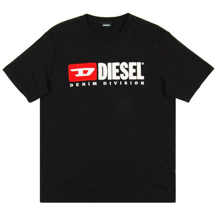 DIESEL Crew Neck Crew Neck Plain Cotton Short Sleeves Logo Crew Neck T-Shirts 10