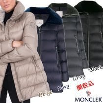 MONCLER Blended Fabrics Plain Down Jackets
