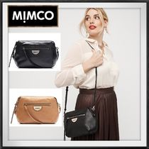 MIMCO Casual Style Plain Shoulder Bags
