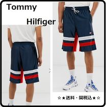 Tommy Hilfiger Street Style Bi-color Joggers Shorts
