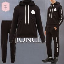 MONCLER Blended Fabrics Street Style Top-bottom sets