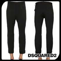 D SQUARED2 Wool Plain Jeans & Denim