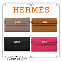 HERMES Kelly Plain Leather Accessories