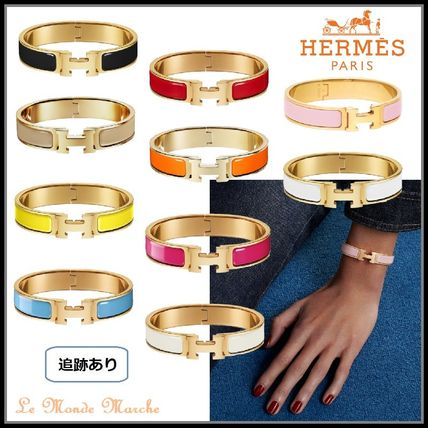 HERMES Bangles Casual Style Street Style Party Style Office Style