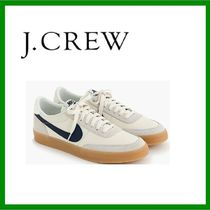 J Crew Suede Street Style Collaboration Plain Sneakers