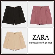 ZARA Short Plain Shorts