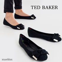 TED BAKER Round Toe Casual Style Suede Blended Fabrics Plain