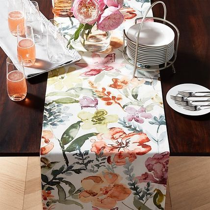 Crate Barrel Tablecloths Table Runners