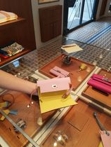 HERMES Kelly Leather Long Wallets