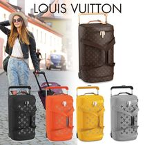 Louis Vuitton MONOGRAM Unisex Blended Fabrics Street Style Luggage & Travel Bags