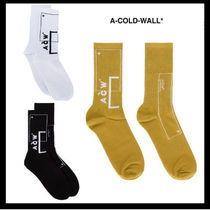 A-COLD-WALL Street Style Plain Cotton Undershirts & Socks