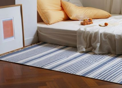 Stripes Tassel Collaboration Carpets & Rugs
