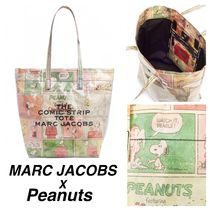 MARC JACOBS THE MARC JACOBS Casual Style Collaboration A4 PVC Clothing Totes