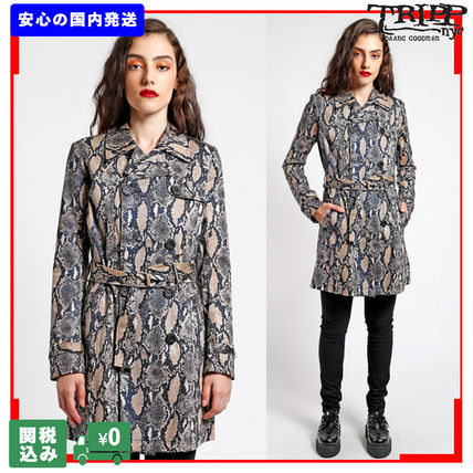 Casual Style Street Style Other Animal Patterns Python