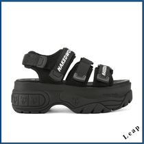 Naked Wolfe Street Style Plain Leather Sport Sandals Sports Sandals