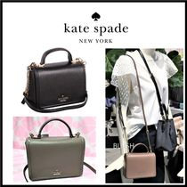 kate spade new york Casual Style 2WAY Plain Leather Crossbody Shoulder Bags