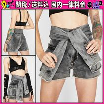 DOLLS KILL Short Casual Style Plain Shorts