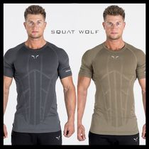 SQUAT WOLF Street Style Yoga & Fitness Tops