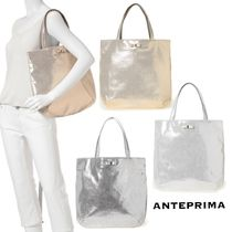 ANTEPRIMA A4 Plain Party Style Totes