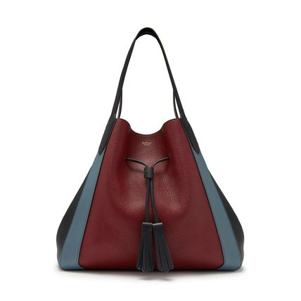Plain Leather Totes