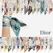Christian Dior Silk Lightweight Scarves & Shawls