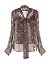 TWIN-SET Silk Long Sleeves Shirts & Blouses