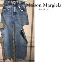 Maison Martin Margiela Denim Plain Long Jeans