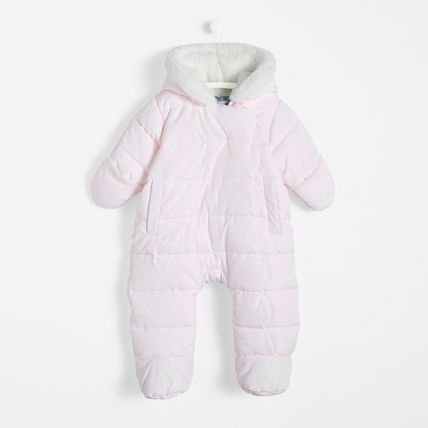Baby Girl Outerwear Snowsuit with hood Jacadi