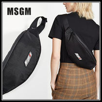 MSGM Casual Style Street Style Plain Shoulder Bags