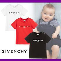 GIVENCHY Unisex Organic Cotton Baby Girl Tops