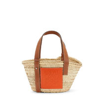 LOEWE Calfskin Home Party Ideas Straw Bags