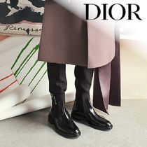 DIOR HOMME Street Style Chelsea Boots Chelsea Boots