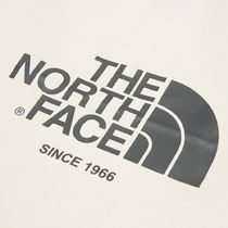 THE NORTH FACE WHITE LABEL Casual Style Unisex Street Style A4 Plain Logo Totes