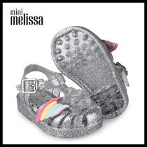 Melissa Unisex Street Style Collaboration Kids Girl Sandals