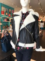 kate spade new york Short Leather Jackets