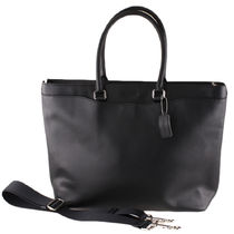 Coach 2WAY Plain Leather Totes