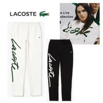 LACOSTE Unisex Sweat Street Style Plain Sweatpants