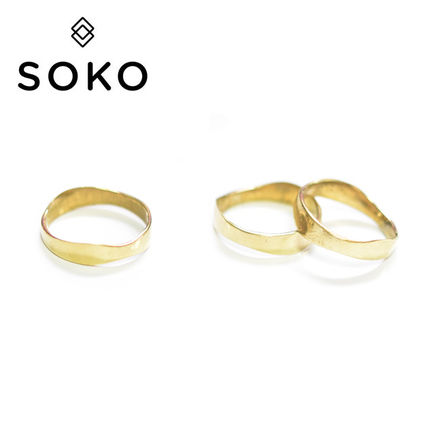 Brass Co-ord Rings