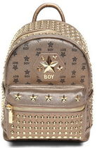 BOY LONDON Unisex Street Style Bag in Bag PVC Clothing Logo Backpacks