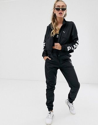 PUMA Street Style Co-ord Activewear Tops