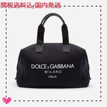 Dolce & Gabbana Calfskin 2WAY Plain Boston Bags