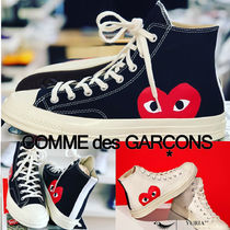 COMME des GARCONS Heart Unisex Street Style Collaboration Low-Top Sneakers