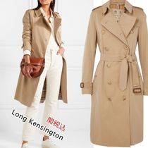 Burberry THE KENSINGTON Plain Trench Coats