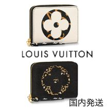 Louis Vuitton ZIPPY COIN PURSE Leopard Patterns Coin Purses