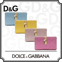 Dolce & Gabbana DOLCE Studded 2WAY Chain Plain Party Style With Jewels Clutches