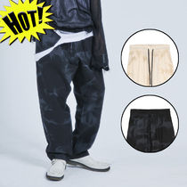 OPEN THE DOOR Printed Pants Unisex Street Style Cotton Patterned Pants