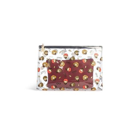 Collaboration PVC Clothing Pouches & Cosmetic Bags