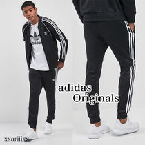 adidas SUPERSTAR Unisex Street Style Top-bottom sets