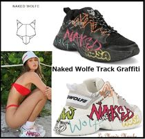 Naked Wolfe Platform Casual Style Street Style Leather